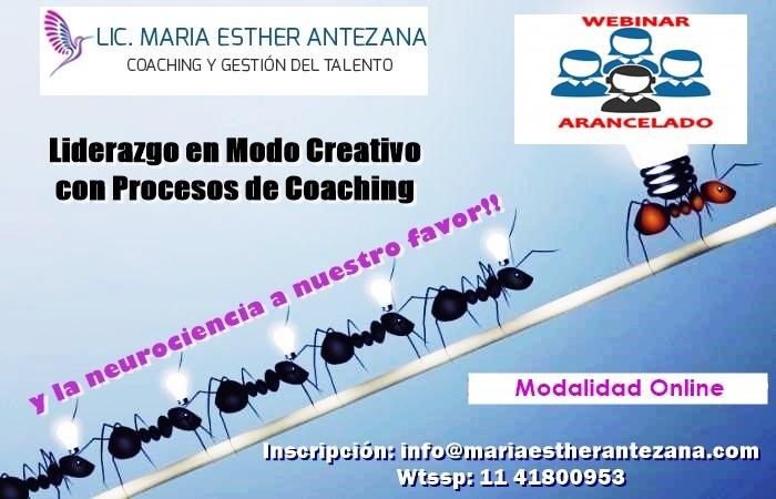 Liderazgo en Modo Creativo con Procesos de Coaching 01