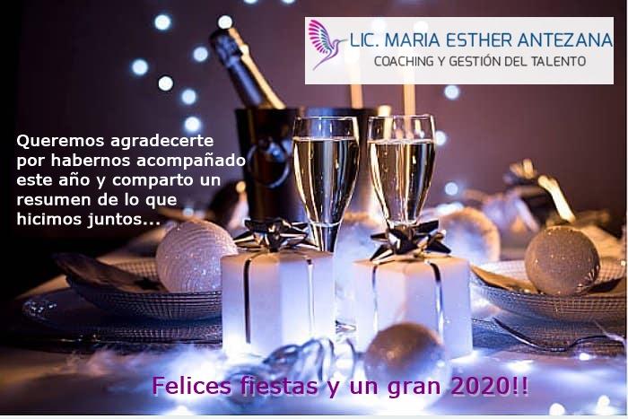 Felices Fiestas y un gran 2020!!