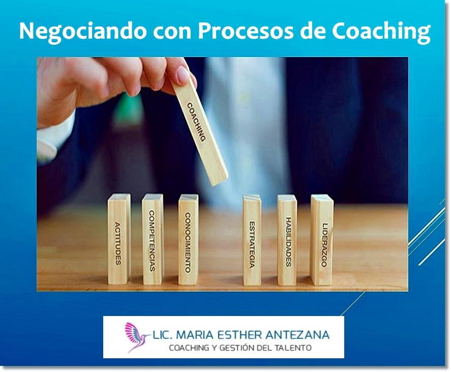 Negociando con Procesos de Coaching 01